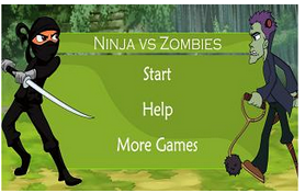 Ninja Keyboard games