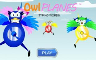 Owl Planes Long Words