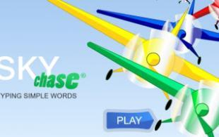 Sky Chase Words
